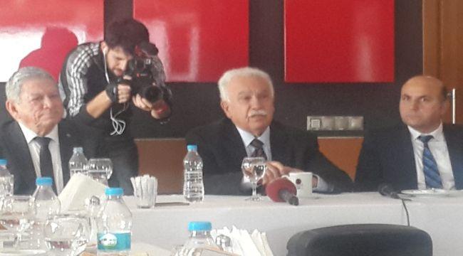 """Perinçek """"PKK'yı bitirmek için tarihi fırsat"""""""
