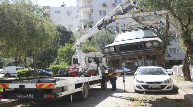 9 ayda 200 hurda araçlar kaldırıldı