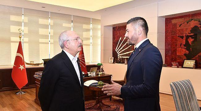 Gürbüz, Chp Genel Başkanı Kılıçdaroğlu'nu Ziyaret Etti