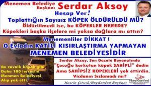 Hayvan severler Serdar Aksoy'a tepki gösterdi