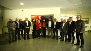 KESK'ten Başkan Çerçioğlu'na Ziyaret