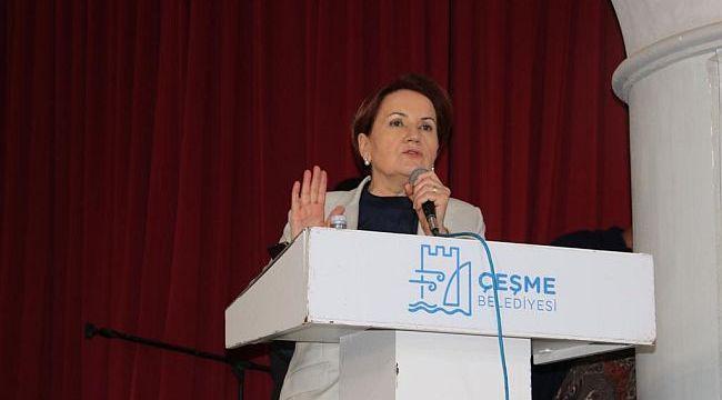 "Akşener; ""Çözüm Anadolu tohumunda"""