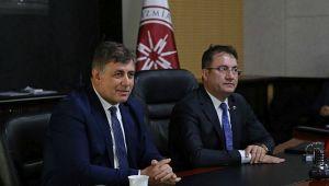 Karşıyaka Belediyesi ve İYTE 'Odak Toplantısı'nda buluştu