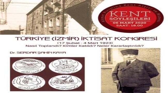 APİKAM'da İzmir İktisat Kongresi konuşulacak