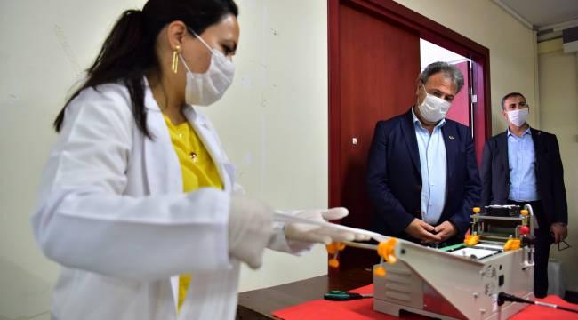 Başkan İduğ: Bornova'nın maske ihtiyacını karşılayacağız