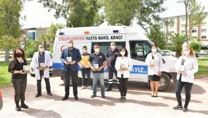 """Belediye sağlık personeline """"Tıbbiyeli Hikmet"""""""