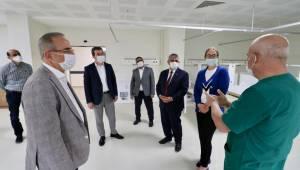 Bergama devlet hastanesi ek bina için gün saymaya başladı