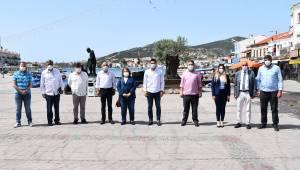 Milletvekili Mahir Polat, Foça'yı Ziyaret Etti