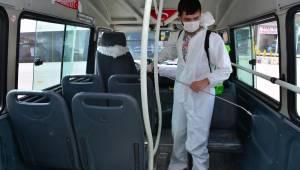 Toplu taşımada önlemler artırıldı