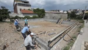 Gaziemir'in taziye evleri hizmete girmek için gün sayıyor