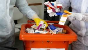 Karşıyaka'da atık ilaçlar çöpe gitmeyecek