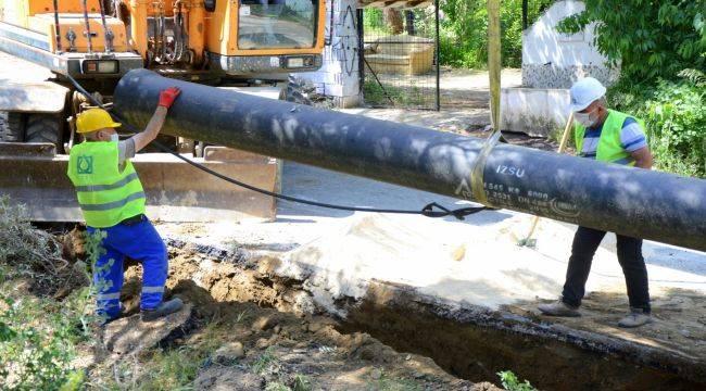 Tire ve Bayındır'a 30 milyonluk içme suyu yatırımı