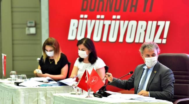 Bornova'da 3 ay sonra ilk meclis