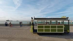 Kordon'a nostaljik tramvay geliyor