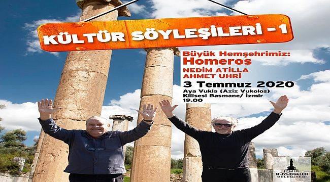 """""""Kültür Söyleşileri"""" başlıyor"""