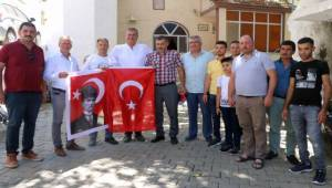 Başkan Duran'dan Köylere Bayram Ziyareti