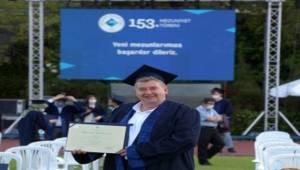 Başkan Oran annesi için o diplomayı aldı!