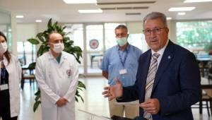 EÜ Hastanesi personel yemekhanesi baştan sona yenilendi