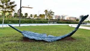 Heykel Çalıştayı'nda Üretilen Eserler Halk Park'ı Süslüyor