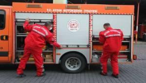 Aydın Büyükşehir'in arama-kurtarma ekipleri İzmir'de