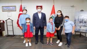 Başkan Kayalar Çocukların İsteğini Geri Çevirmedi