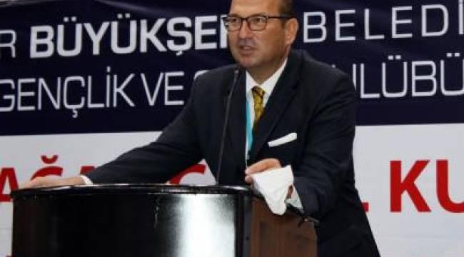 Belediyespor'da eski yönetim yeniden seçildi