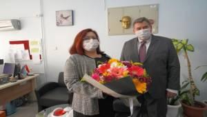 Başkan Oran'dan öğretmenlere anlamlı hediye
