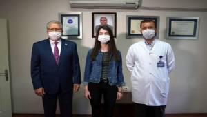 Ege'de çocuklarda dünyada ilk robotik dalak kisti ameliyatı başarıyla yapıldı