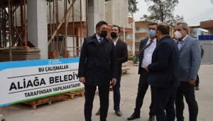 Aliağa Devlet Hastanesi Ek Acil Binası Hızla Yükseliyor
