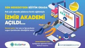 Büyükşehir, İzmir Akademi online eğitim portalını açtı