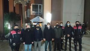 TÜGVA Kolluk Kuvvetlerini ve Sağlık Çalışanlarını Yalnız Bırakmadı