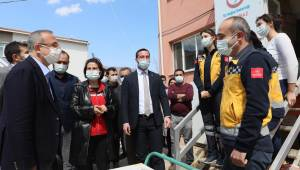 Başkan Sürekli'den Küçük Menderes'e çıkarma