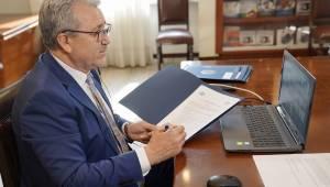 EÜ ile Özbekistan'daki 7 üniversite arasında akademik iş birliği protokolü imzalandı