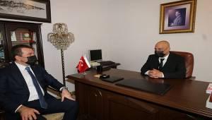 Başkan Koştu'dan BERKSAV'a ziyaret
