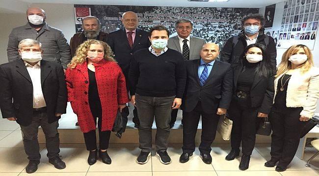 """CHP İl Başkanı Yücel, """"Bu vatan bizim hepimizin vatanıdır"""""""