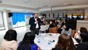Çiğli'de Kadın Çalışmaları Anlatıldı