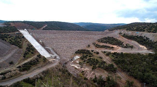 Musacalı Barajının Gövde Beton Kaplama Çalışmalrı Tamamlandı