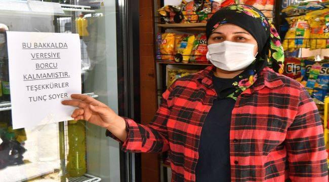 Bakkallara 1 milyon 300 bin liralık borç kapatıldı