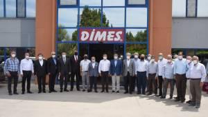 EBSO Meclisi'nden Dimes'e ziyaret