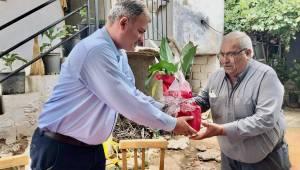 Başkan Duran Şehit Babalarını Unutmadı