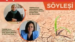 Efes Selçuk'ta İklim Krizi Ve Kuraklık Söyleşisi