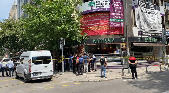 HDP İzmir binasına saldırı! 1 ölü, 1 gözaltı