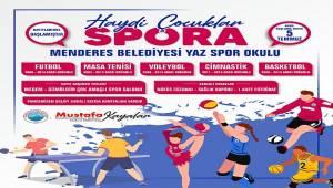 Menderes Belediyesi Yaz Spor Okulları Başlıyor