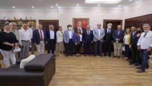 Başkan Kurt CHP'li heyeti ağırladı