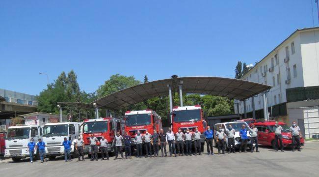İzmir Büyükşehir Belediyesi'nden Manavgat'a Yardım