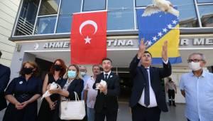 Karşıyaka Srebrenitsa'yı unutmadı!