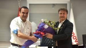 Altınordu'dan Başkan İduğ'a Ziyaret