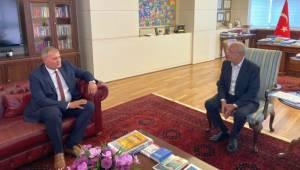 Başkan Duran Millet İttifakı Genel Başkanlarını Ziyaret Etti