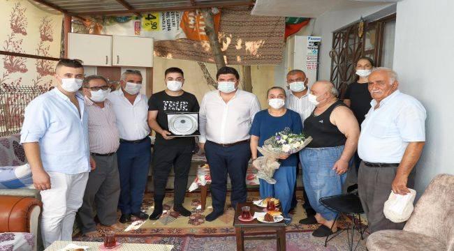 Başkan Kılıç'tan Kuzey Irak Gazisine Vefa Ziyareti