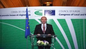 Başkan Soyer Strazburg'da